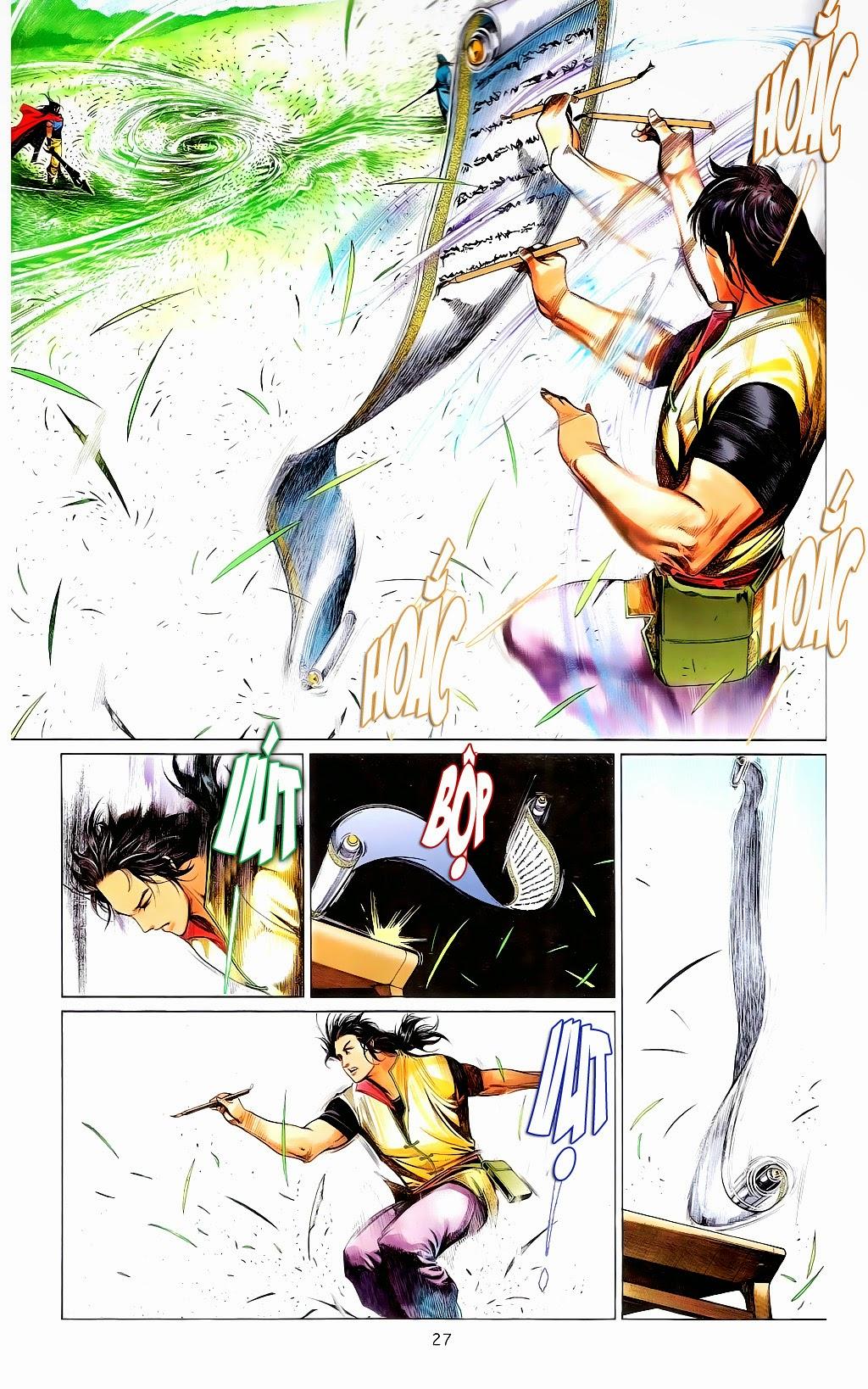 Phong Vân Chap 665 - Trang 26