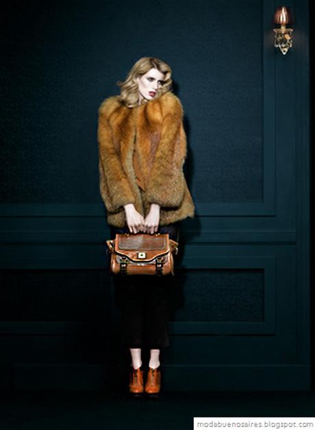 Carla Danelli otoño invierno 2012. Carteras, zapatos y accesorios. Moda invierno 2012.