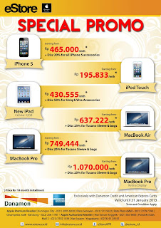 Spesial Promo iPhone 5 - Januari 2013