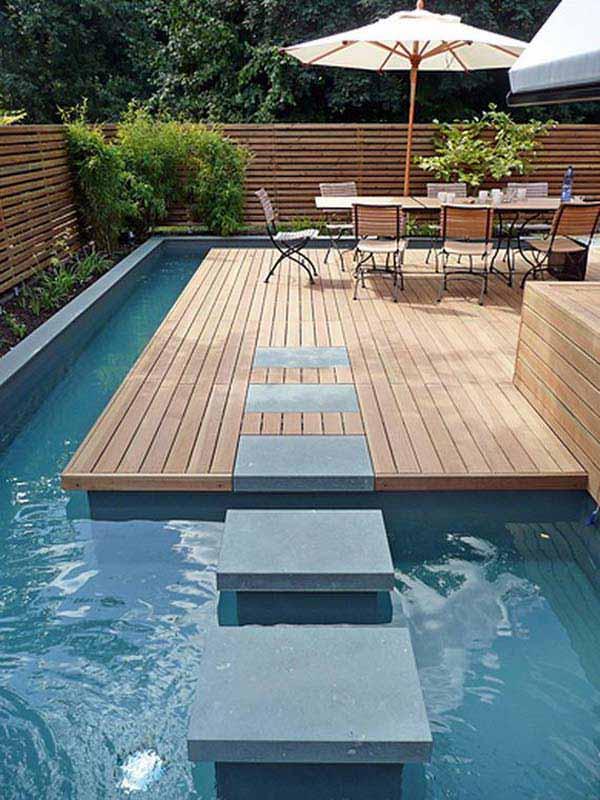 Bể bơi sân vườn đẹp