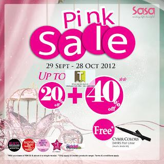 SaSa Pink Sale 2012