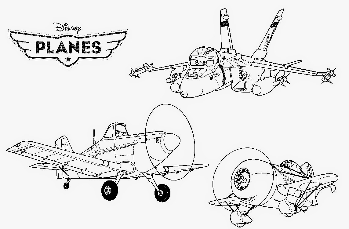 Disney Planes Coloring Pages Coloringfilminspector