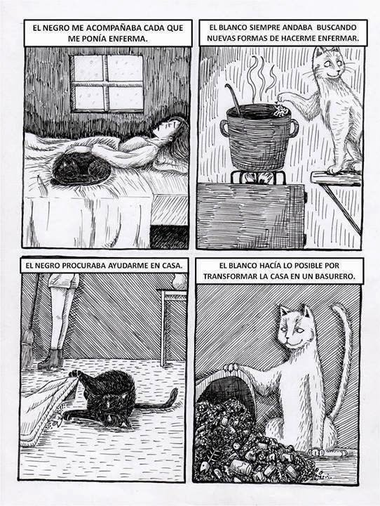 Yo tenía dos gatos...