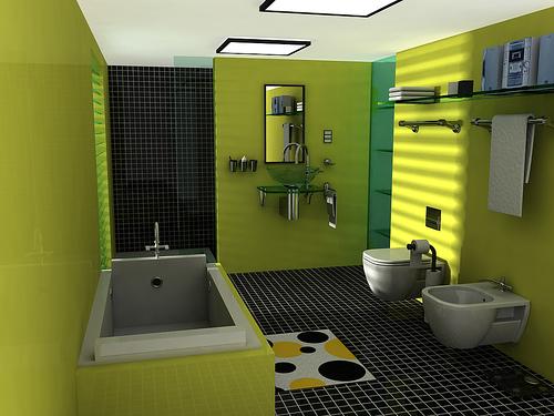 Contoh Desain Kamar Mandi Modern Terbaru