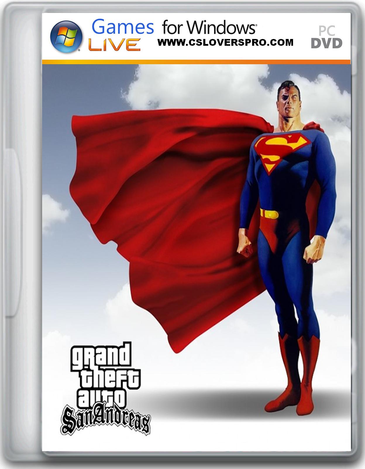 Gta San Andreas Superman Mod Cheats San Andreas Superman Mod