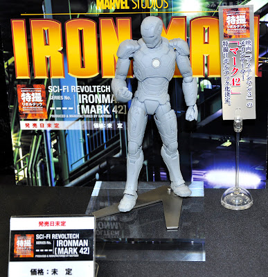 Kaiyodo Revoltech Iron Man 3 Iron Man Mark 42 Armor Figure (display picture)