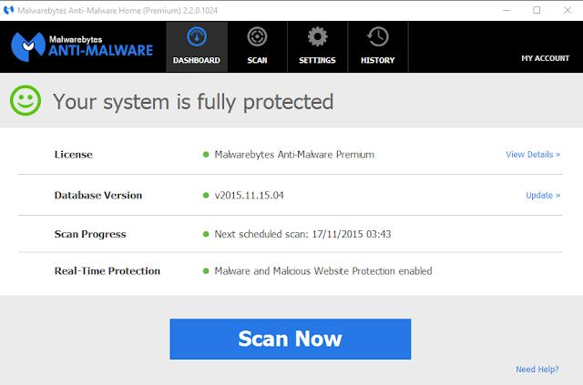 Malwarebytes Anti Malware 2.2.0.1024 key