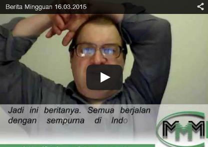 News Update Berita Mingguan MMM Mavrodi Indonesia Tanggal 16 Maret 2015