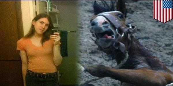 Wanita Ini Ingin Bermain Seks Dengan Kuda Jantan