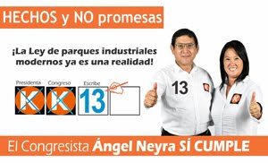 Ángel Neyra, candidato N° 13 por Lima de FUERZA POPULAR
