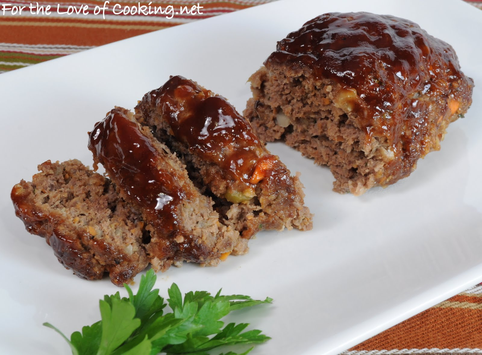 Meatloaf with Barbecue Glaze | For the Love of Cooking