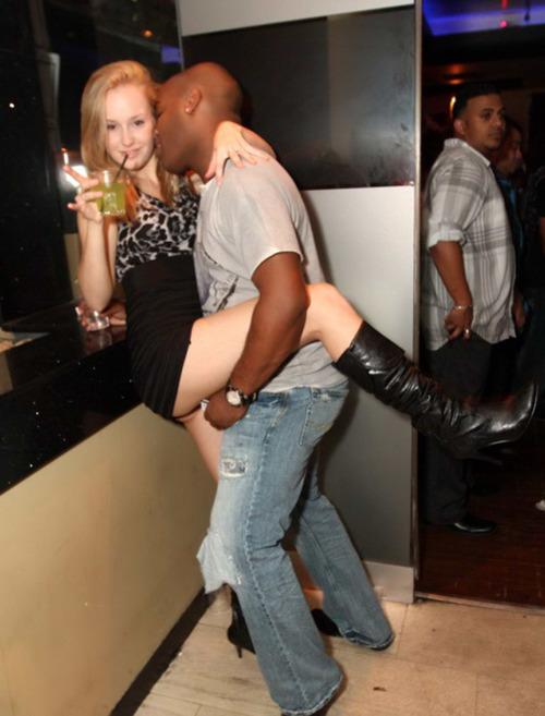 Wife Dancing Interracial