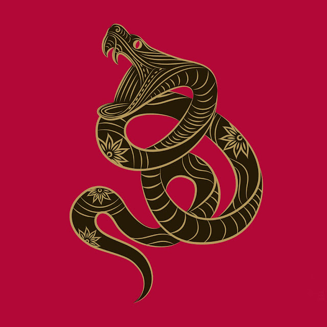chinese snake year ipad wallpaper 05