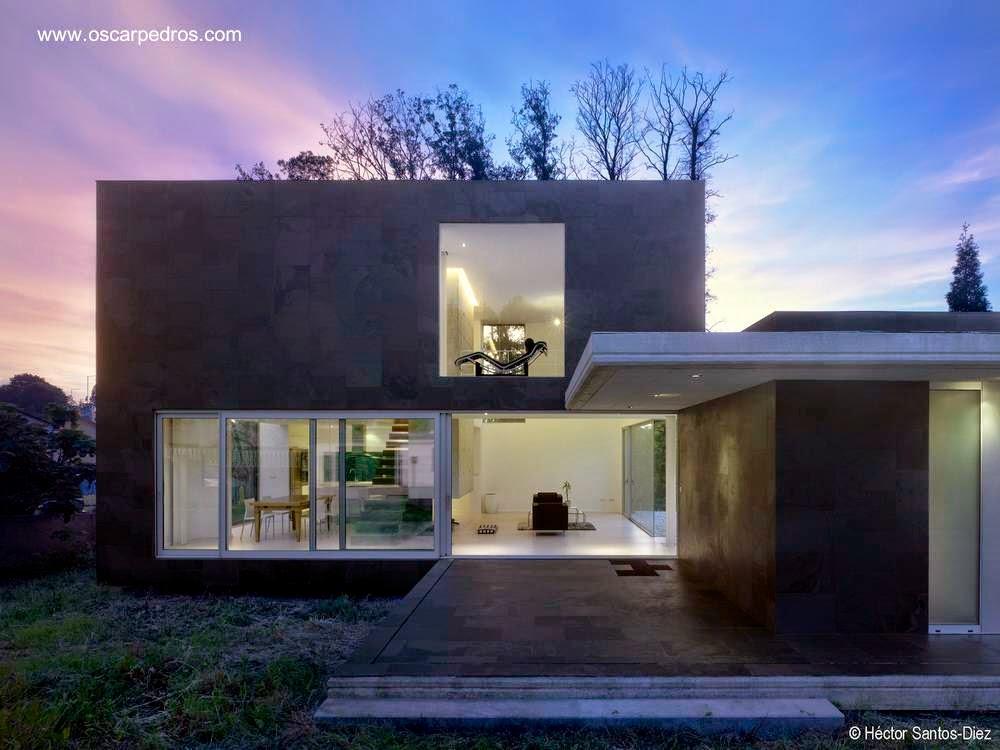 Arquitectura de casas 14 dise os de casas modernas en espa a - Diseno casas modernas ...