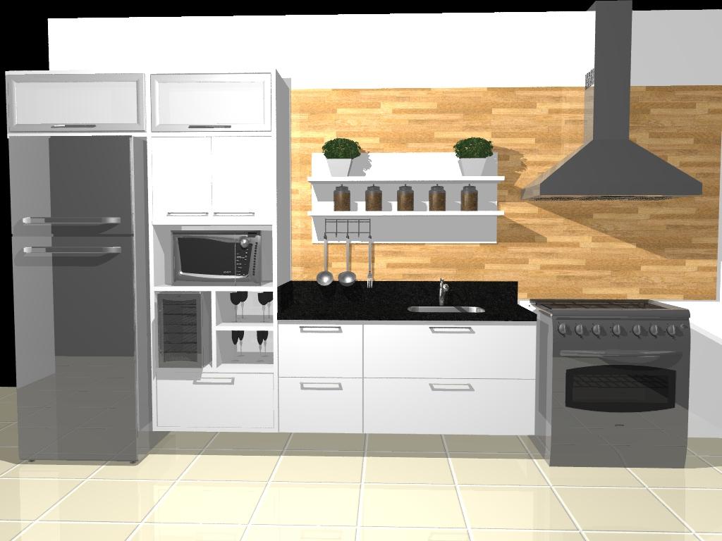 Projeto Cozinha CONTINENTAL !!!! #B27419 1024 768