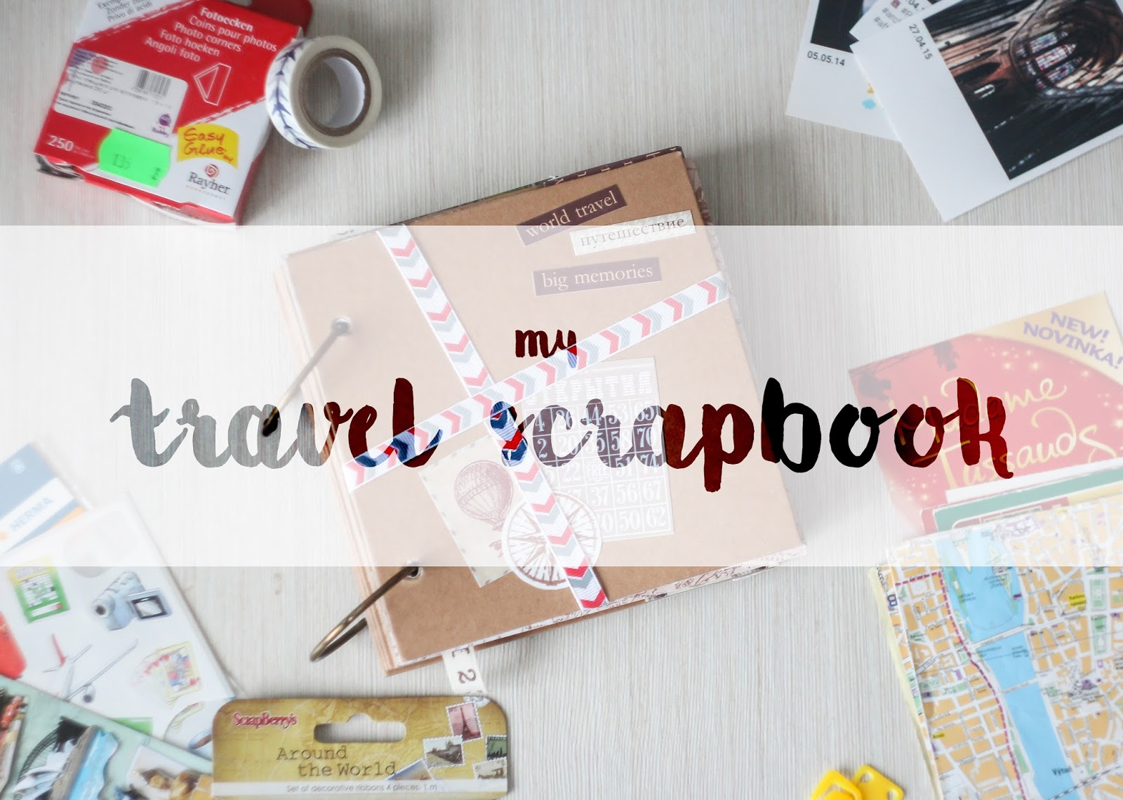 How to scrapbook a trip
