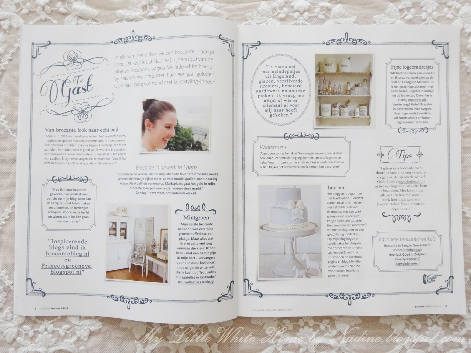 My little white home by nadine interview ariadne at for Ariadne at home oktober 2015