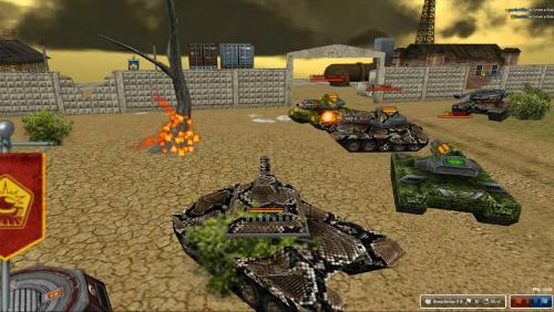 В танках онлайн выделяют две линейки