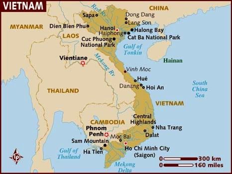 vietnam kartta Let's Nailed The World: Vietnam: The Peaceful Country vietnam kartta