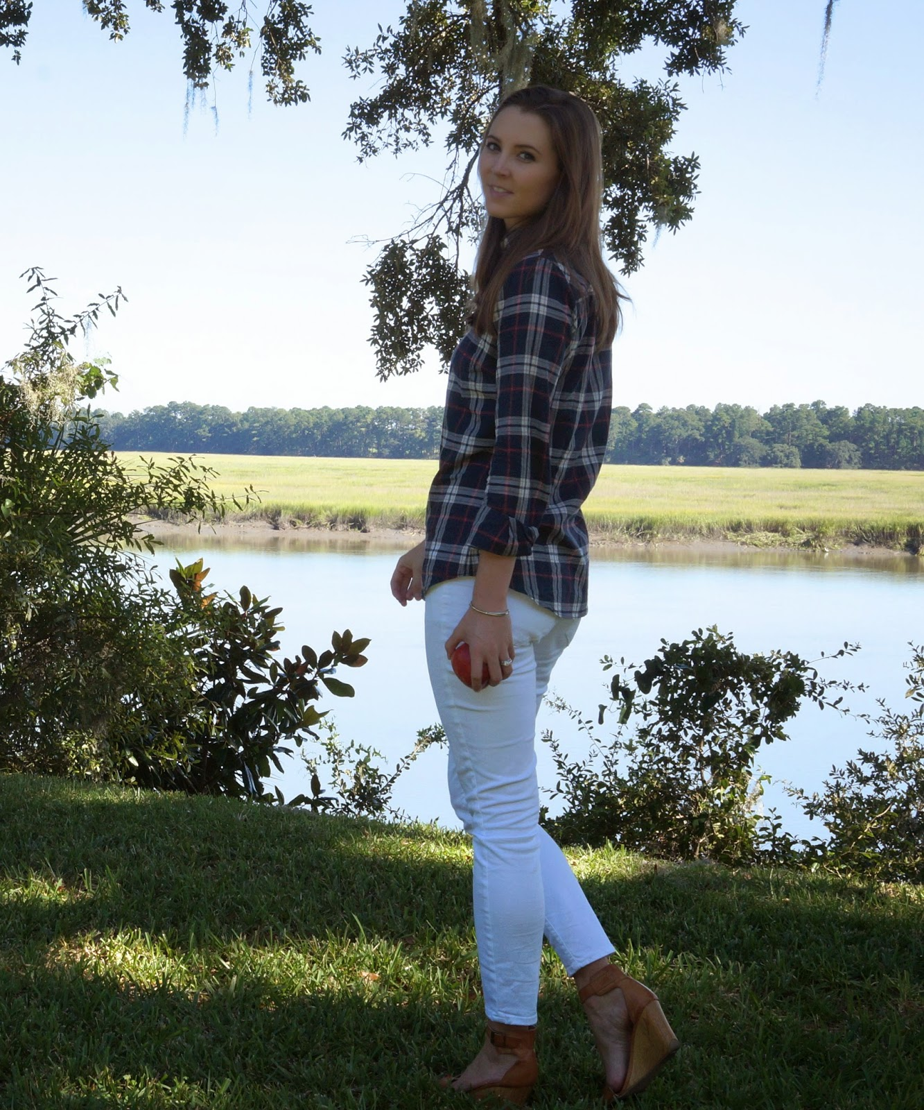 white skinnies for fall