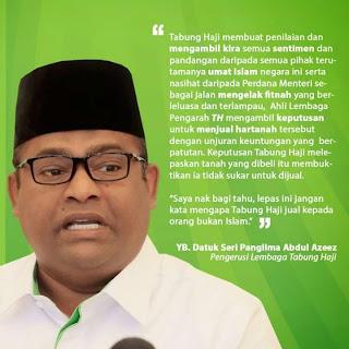 AMARAN KEPADA TH PEMBINA Jangan buat kerja bodoh nak jual kepada bukan Islam