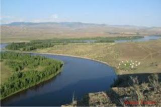 Sungai Yenisei Angara Selenga