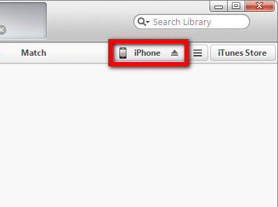 how to connect your new phone to itunes