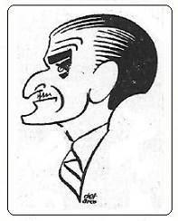 Caricatura de Eduardo Monistrol