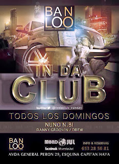 Sala BANLOO (Bangaloo) DOMINGO 2 DE FEBRERO IN DA CLUB