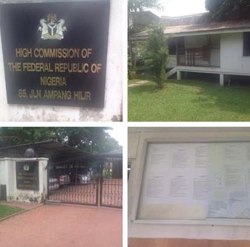 See The State Of The Nigerian Embassy In Malaysia
