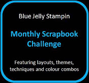 BlueJelly Scrapbook Challenge