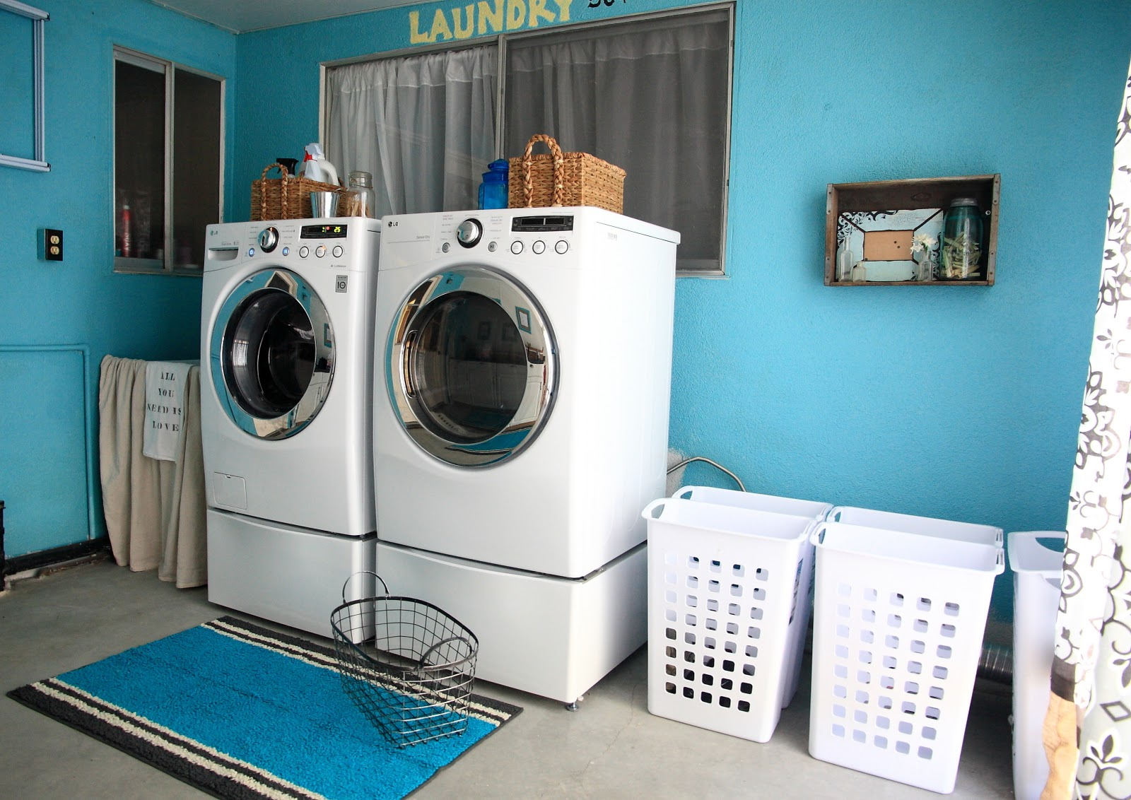 Laundry Room Reveal! - Yellow Bliss Road