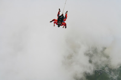 St. Peter-Ording: Fotos eines Tandem-Fallschirmabsprunges über dem ordinger Strand 27