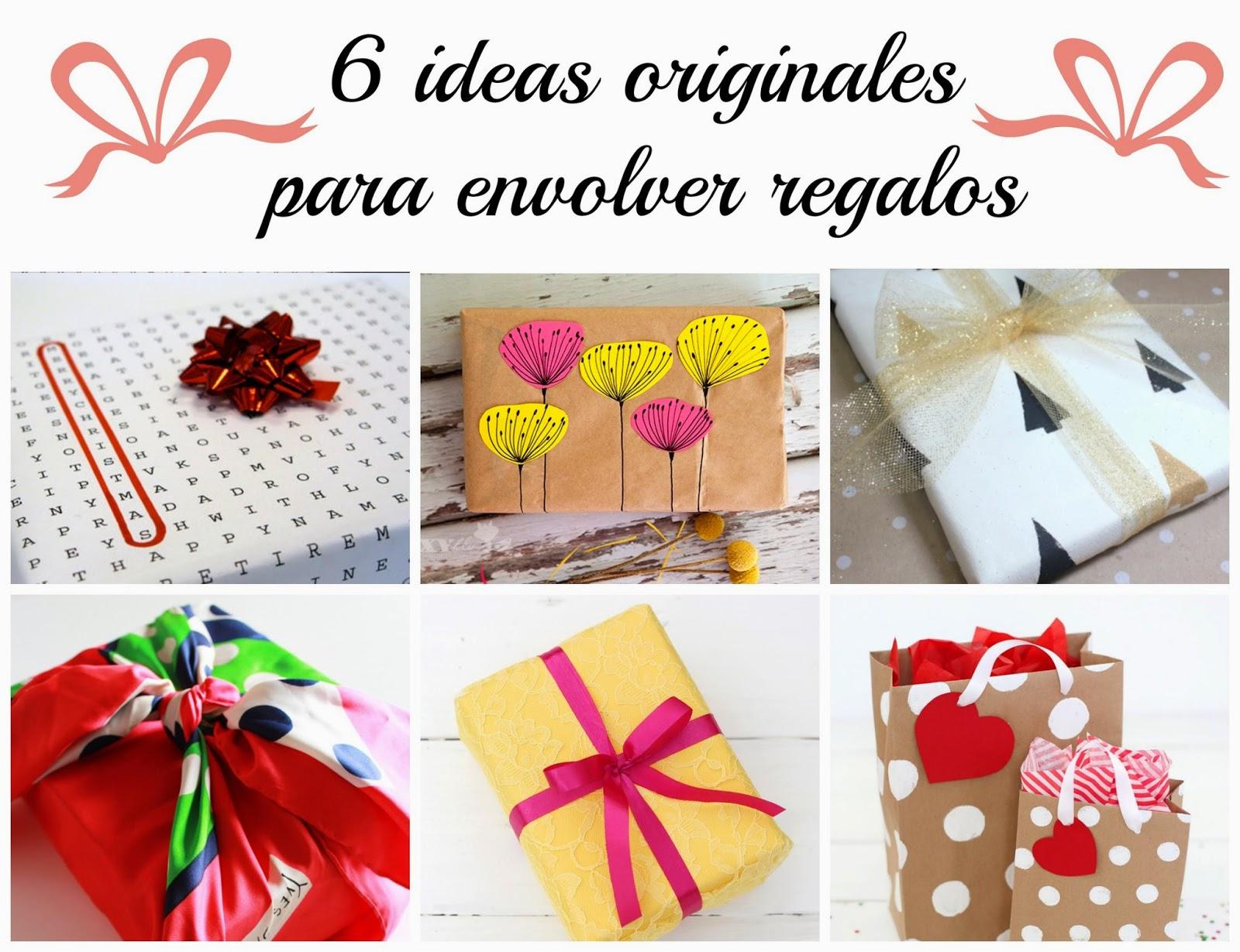 dyi regalos detalles Navidad envoltorios caseros estampados lazos wrap wrapping papel cómo envolver