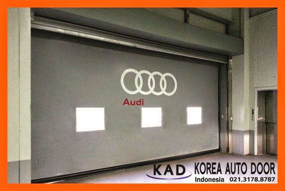 high speed door indonesia has installed in many global companies including audi.