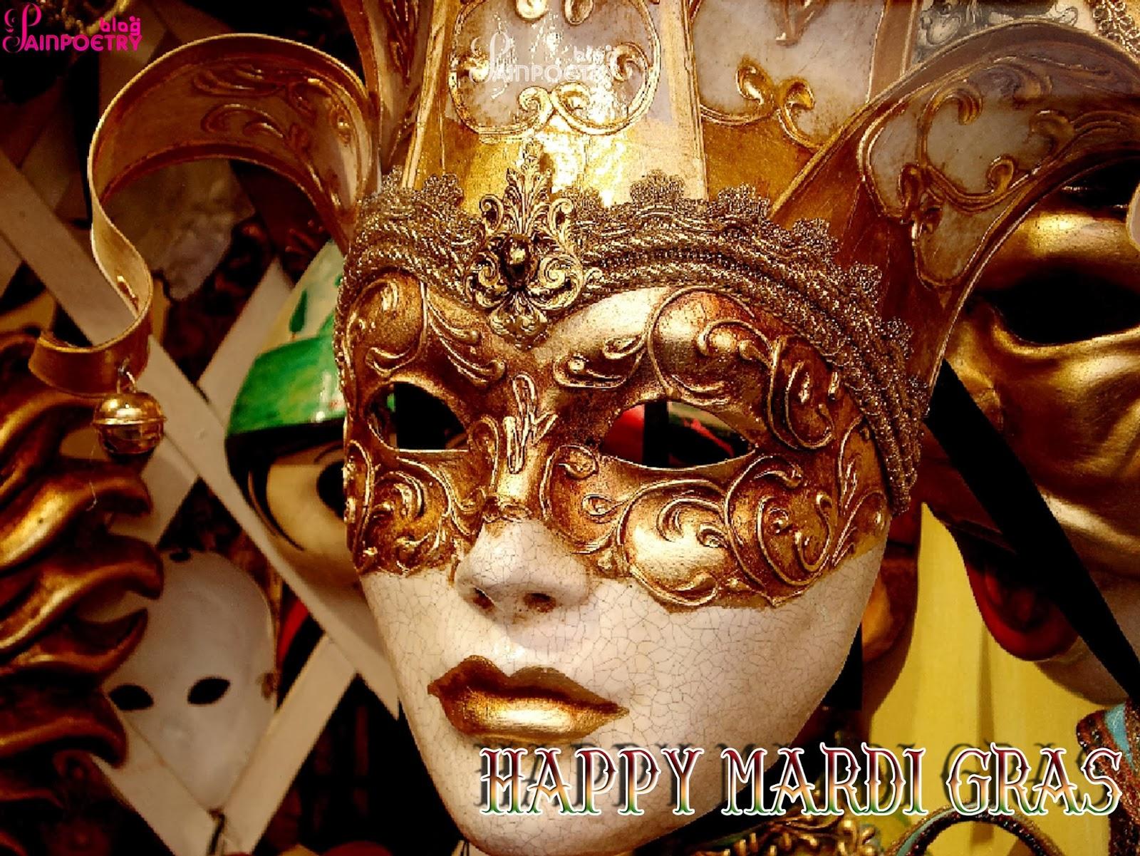 Happy-Mardi-Gras-Festival-Gold-Mask-Image-HD-Wide