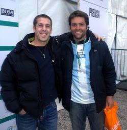 """Agustín """"Gordo"""" Calleri y nuestro enviado a Davis Cup"""
