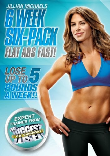 Jillian Michaels 6 Week Six-Pack - ploché brucho s vyrysovanými svalmi