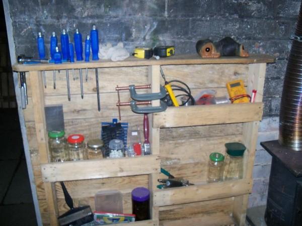 Estanter a para garage funcional for Muebles para garaje