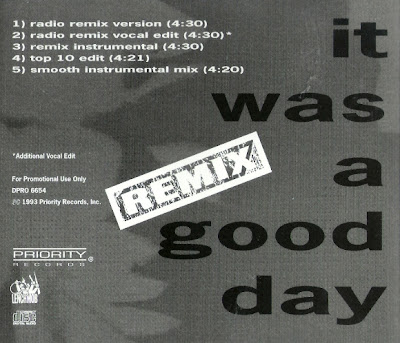 Ice Cube – It Was A Good Day (Remix) (Promo CDS) (1993) (320 kbps)