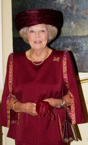 HRH Princess Beatrix attends the Max van der Stoel Award ceremony on 02.10.2014