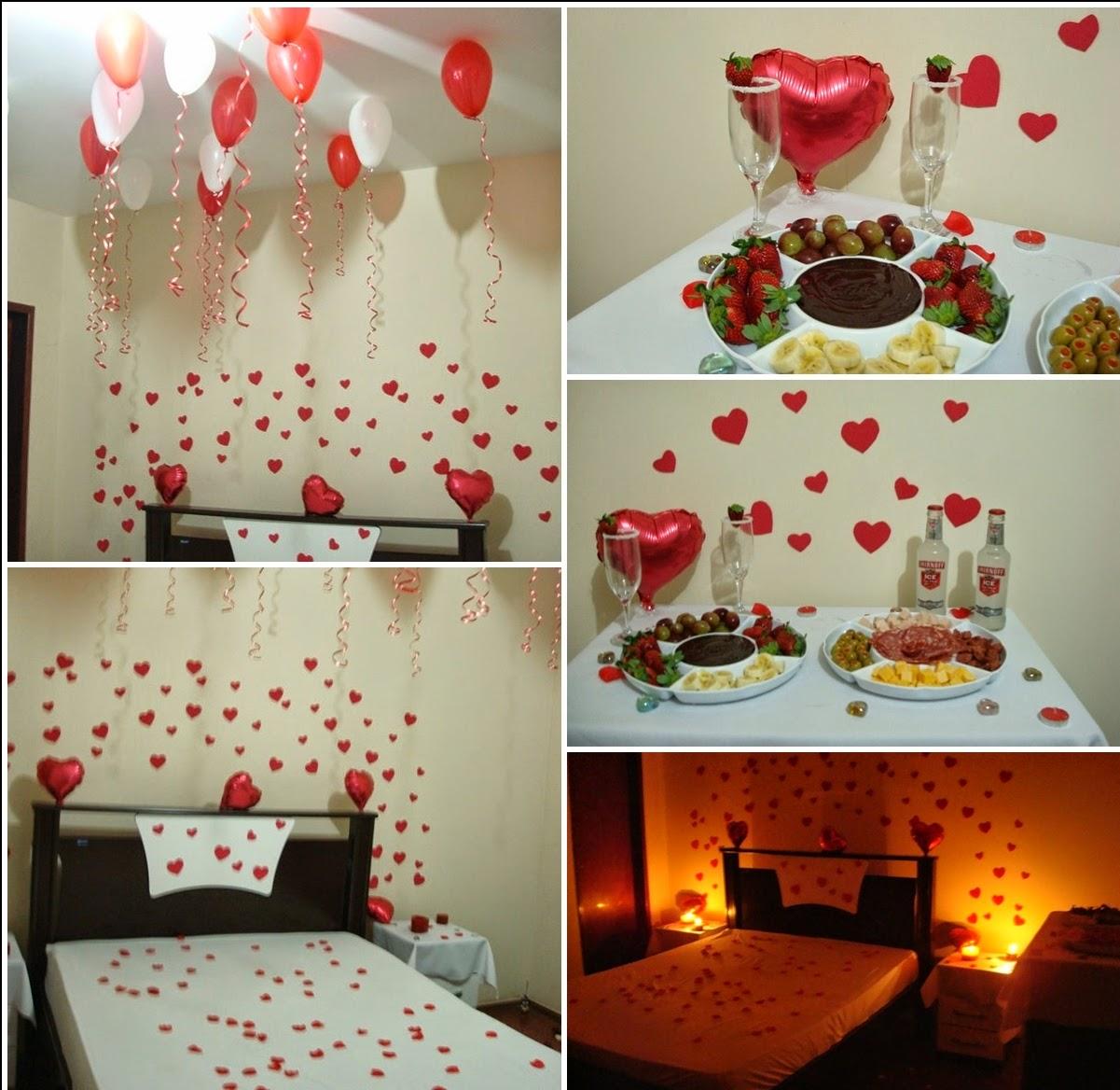 Surpreenda seu amor no Dia dos Namorados Fresca Chic ~ Surpresa Em Quarto De Hotel