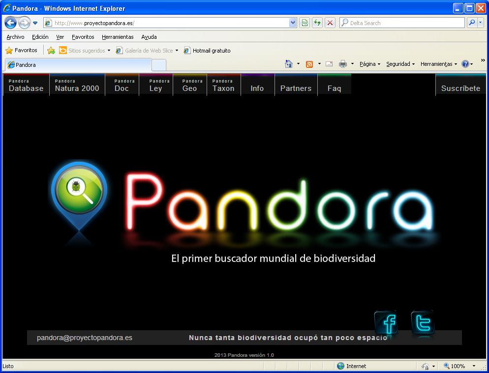 Pandora natura 2000 - Grand mere en chaleur ...