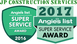 We are proud to have earned the Super Service Award from Angie's List for 2016 and 2017!