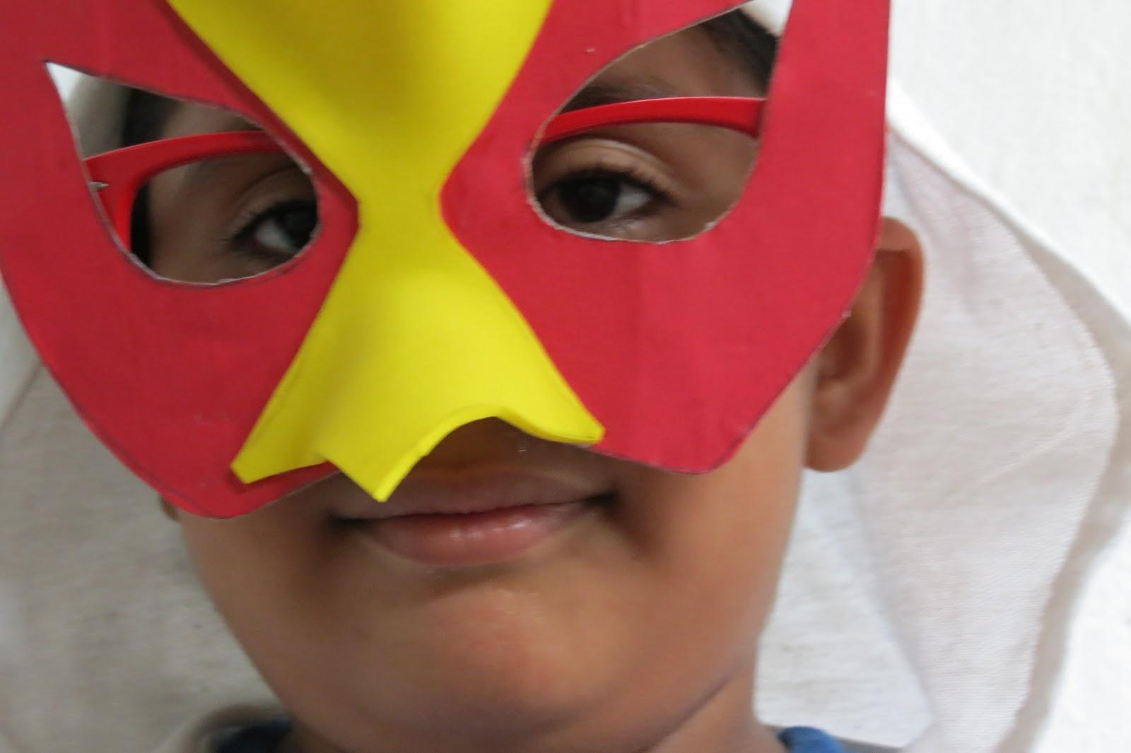 Ideashot c mo hacer una m scara de halc n - Como hacer una mascara ...