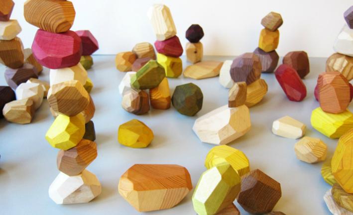 SNEGO, piezas de madera: diseño eco