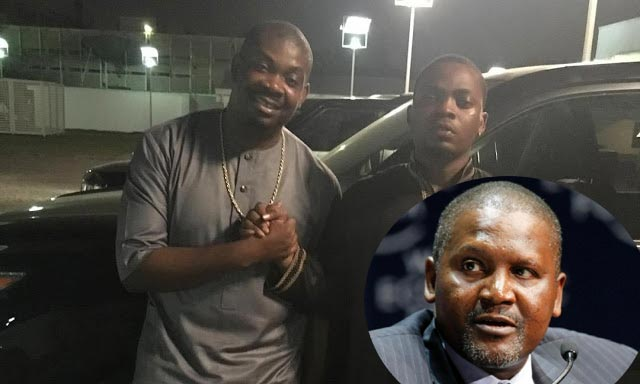 Africa's Richest Man Aliko Dangote Settled Olamide And Don Jazzy's Beef!