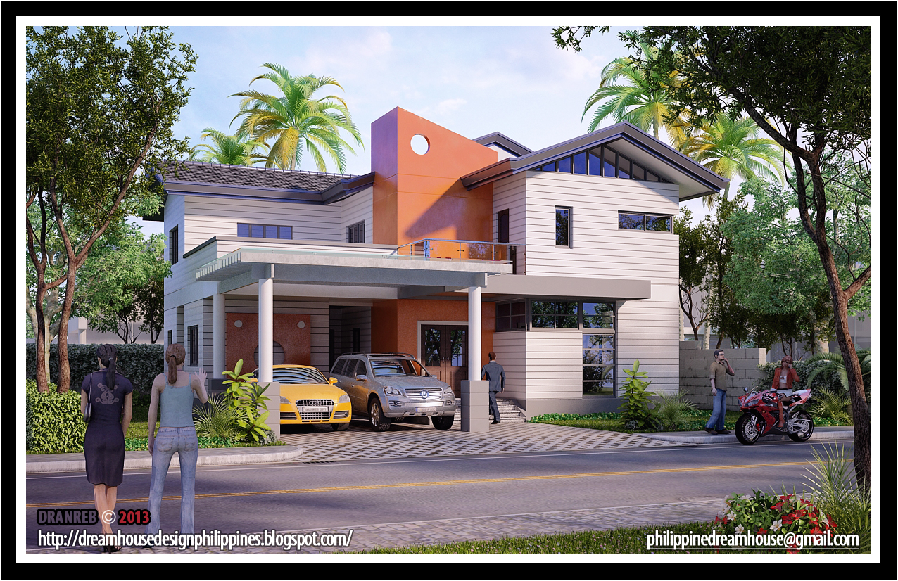 Architect+Bernard+Cadelina+Dream+house+design+two+storey e - 38+ Dream House Two Story Small House Modern House Designs Pictures Gallery Pictures