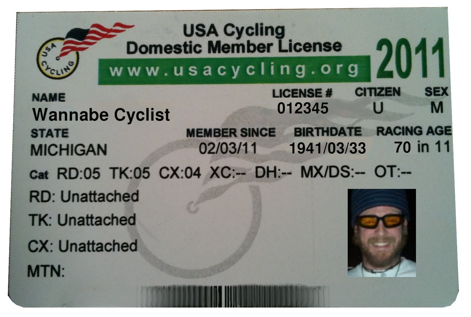 how to get a cycling license