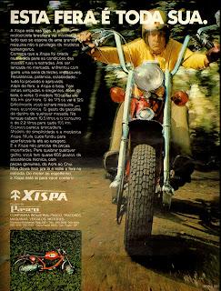 propaganda moto Xispa - 1972